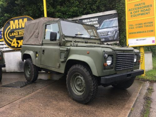 ***SOLD***GS Wolf Land Rover 90 300 TDi 2.5 Ex Military Defender 1997 - VIN 121988